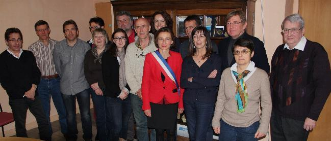 Photo du Conseil Municipal Mars 2014